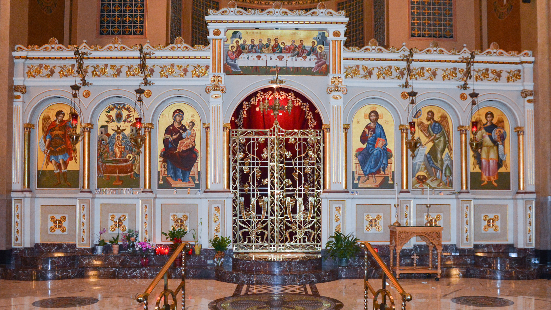 a report on the assumption greek orthodox church I am 100% greek and was surprised that on sunday the last day w as full of disappointment the food , the best the food , the best i don't want to go into details because it's our church but i hope it changes for next year.